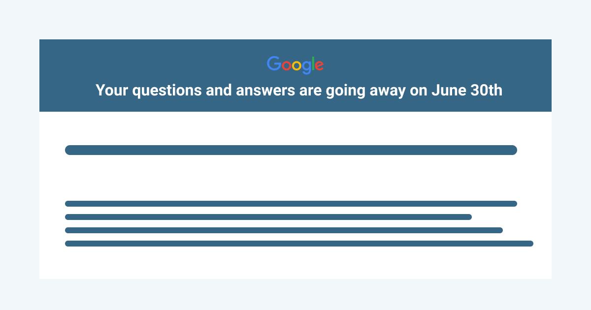 SAPID INFO: Google закрыл функцию «Вопросы-ответы» в результатах поиска, а Question Hub продолжает внедрять по странам